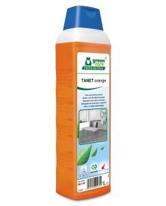 Tana Green Care professional TANET orange Fußboden- und Oberflächenreiniger, 1 Liter