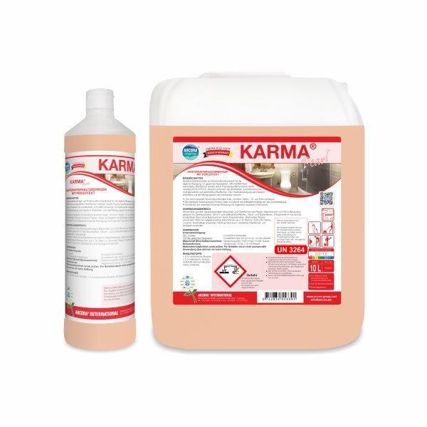 Karma Pearl Sanitärunterhaltsreiniger, 1 Liter