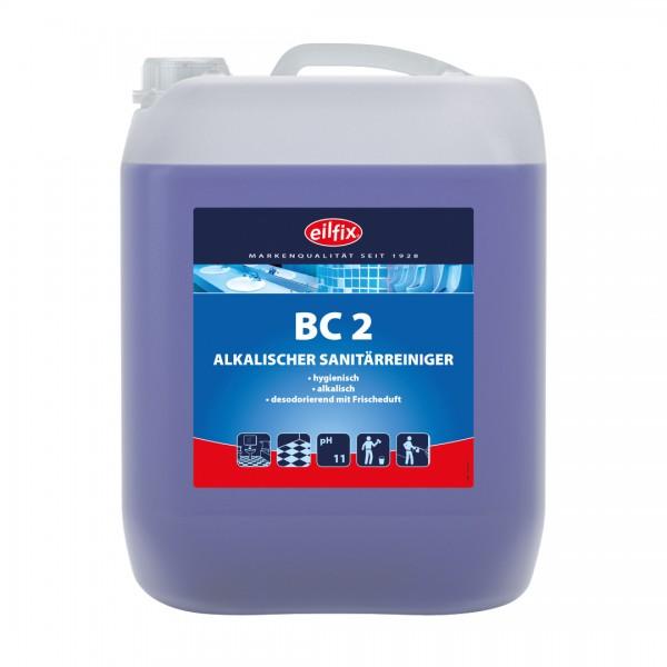 Eilfix BC 2 Sanitärreiniger alkalisch, dünnflüssig 10 Liter