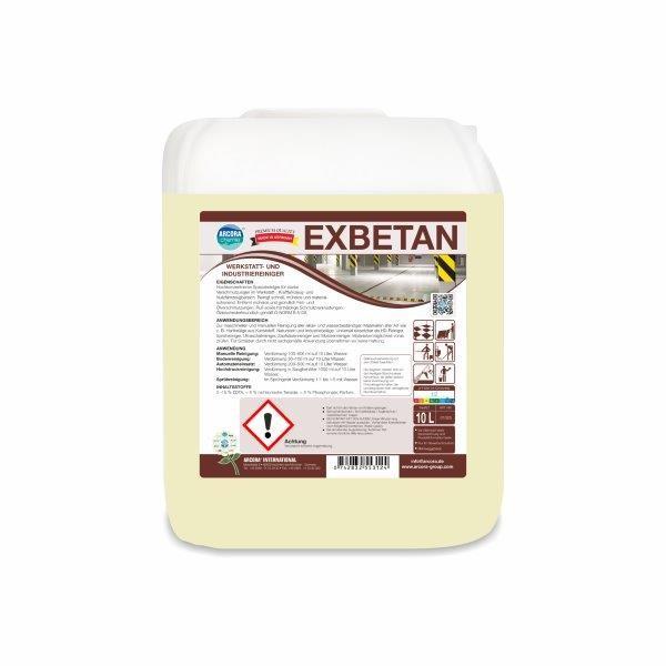 Arcora Exbetan Spezialreiniger, 10 Liter