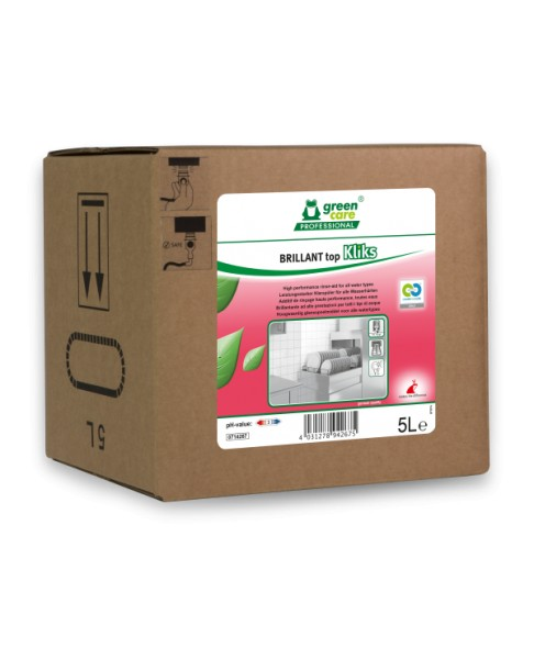 Tana Green Care professional BRILLANT topKliks hochleistungsfähiger Klarspüler, 5 Liter