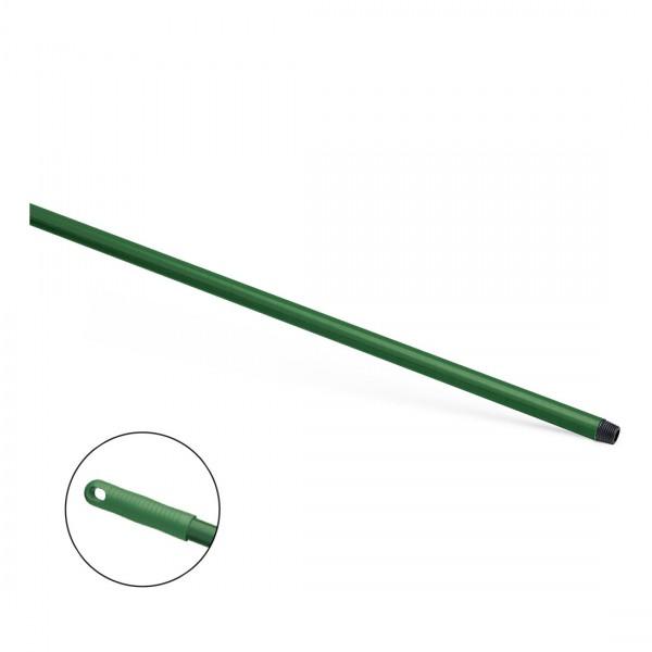Hygiene Glasfaser Stiel mit Gewinde, grün