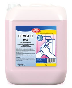 Eilfix Cremeseife rosé, 10 Liter