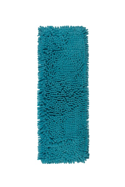 Octopus blau 50 cm Chenillemopp aus Mikrofaser