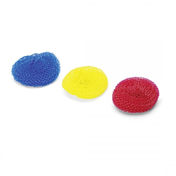 Topfkratzer Plastik groß, farbig sortiert , ca. 20g