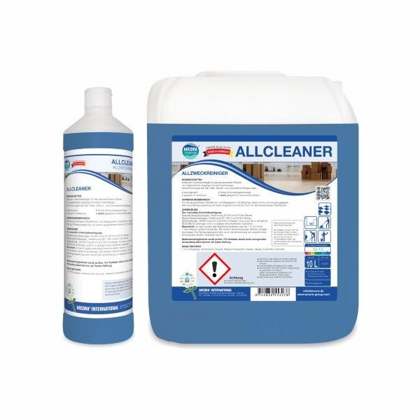 Arcora Allcleaner kraftvoller Unterhaltsreiniger, 1 Liter