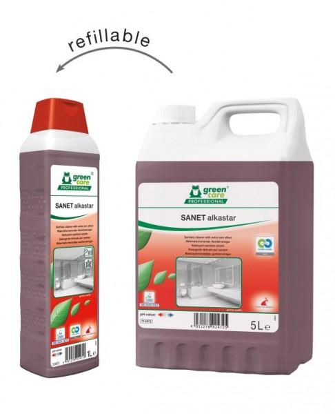 Tana Green Care professional SANET Alkastar Sanitärreiniger alkalisch, 5 Liter