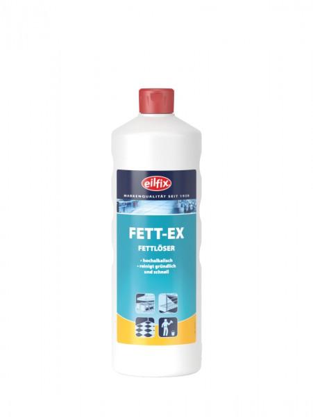 Eilfix Fett-Ex Fettlöser für alle wasserbeständigen Oberflächen hochalkalisch, 1 Liter
