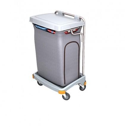 """Hochwertiger Abfallsammler von """"SPLAST"""" mit Müllsackhalterung für 2 x 70 l, Abfallbehälter 140 l und"""