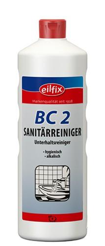 Eilfix BC 2 Sanitärreiniger alkalisch, dünnflüssig, 1 Liter