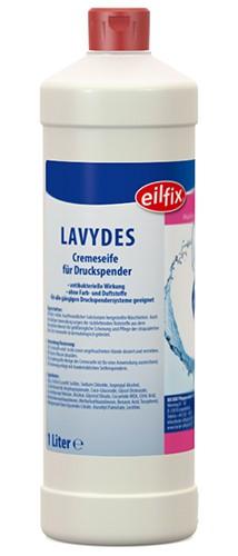 Eilfix Lavydes Cremeseife für hygienische Händewaschung, antibakteriell, 950ml