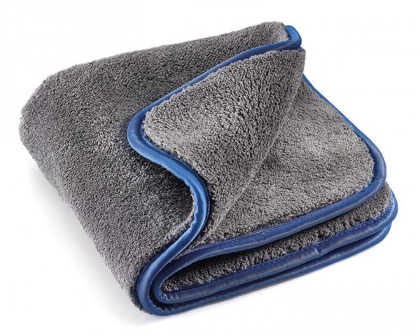 MEGA Clean Mega-Flausch Plus Mikrofasertuch, grau/blau