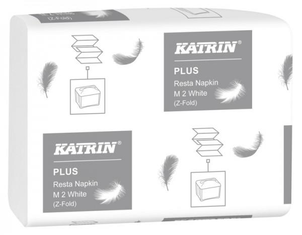 Katrin Resta Spenderservietten M2, 2-lagig, 25,5 x 15,5 cm, weiß