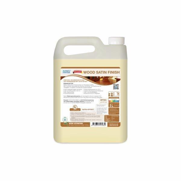 Wood Satin Finish Bodenbeschichtung, 5 Liter
