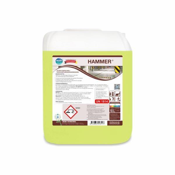 Hochleistungsgrundreiniger Hammer, 10 Liter Kanister