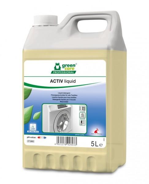 Tana Green Care professional ACTIV liquid Ökologisches Flüssigwaschmittel, 15 Liter