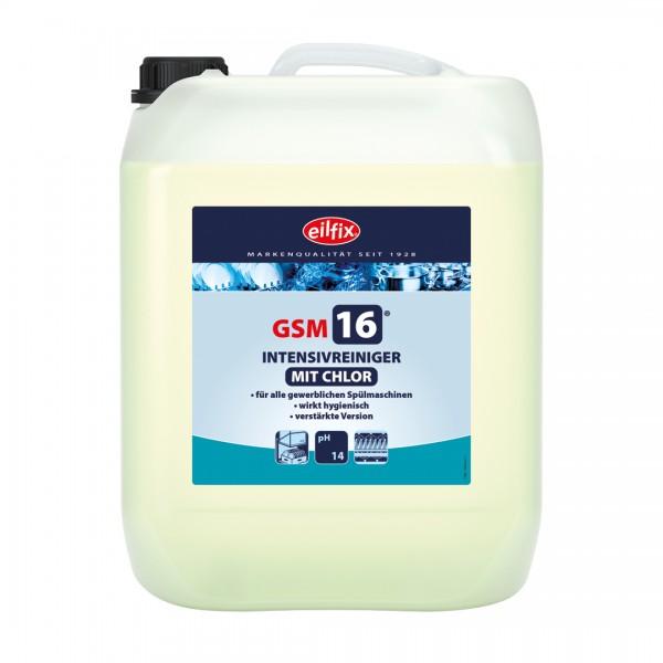 Eilfix GSM 16 mit Chlor bei sehr hartem Wasser, 14 Kg