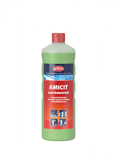 Eilfix Amicit Sanitärrreiniger für den gesamten Sanitärbereich, 1 Liter