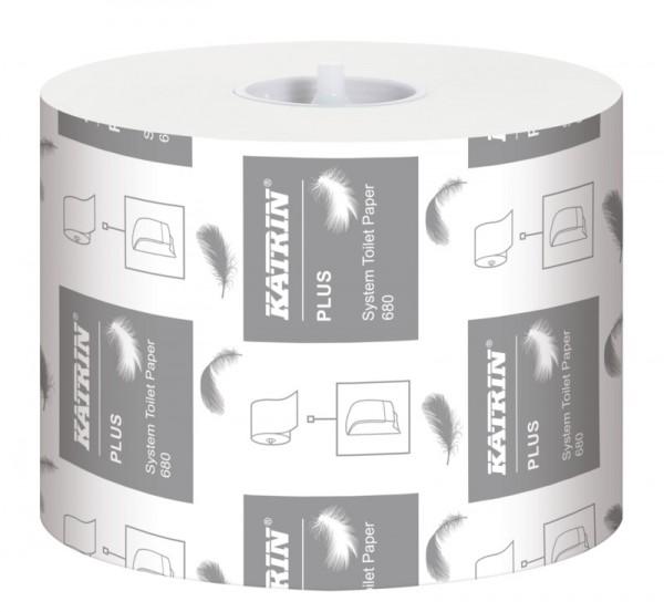 Katrin Plus System Toilettenpapier Toilet 3-lagig, 1 Paket
