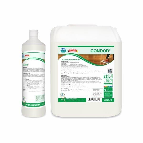 Arcora Condor Wischpflegemittel, 10 Liter