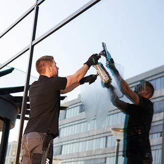 Unger ErgoTec Ninja Fensterwischer 30 Grad-Kopfneigung