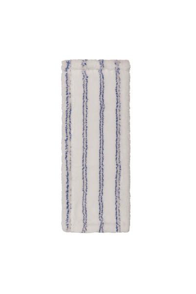 Sprintus Premium Mikrofasermopp 40 cm,weiß/blau mit Laschen