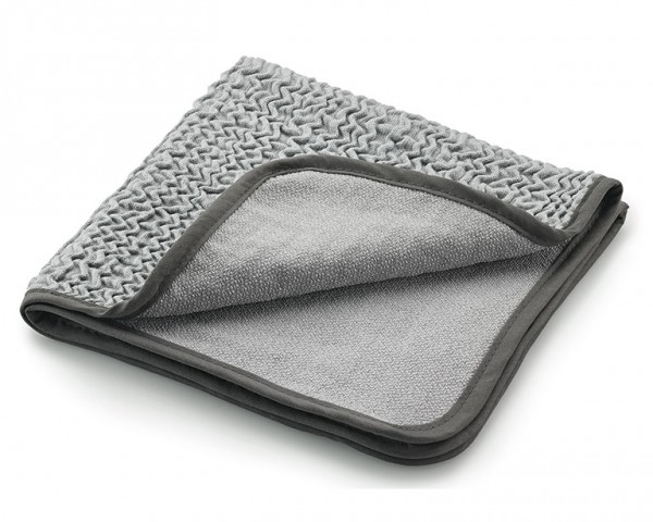"MEGA Clean Allzweck-Mikrofaser ""Tuch to go"", silber/grau"