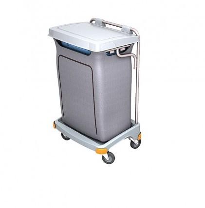 """Hochwertiger Abfallsammler von """"SPLAST"""" mit Müllsackhalterung für 120 l - Müllsack und Abfallbehälte"""