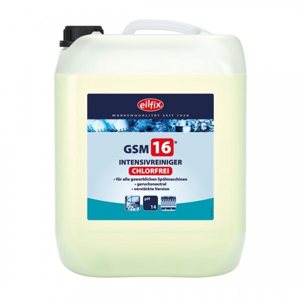 Eilfix GSM 16 chlorfrei bei sehr hartem Wasser, 14 Kilogramm