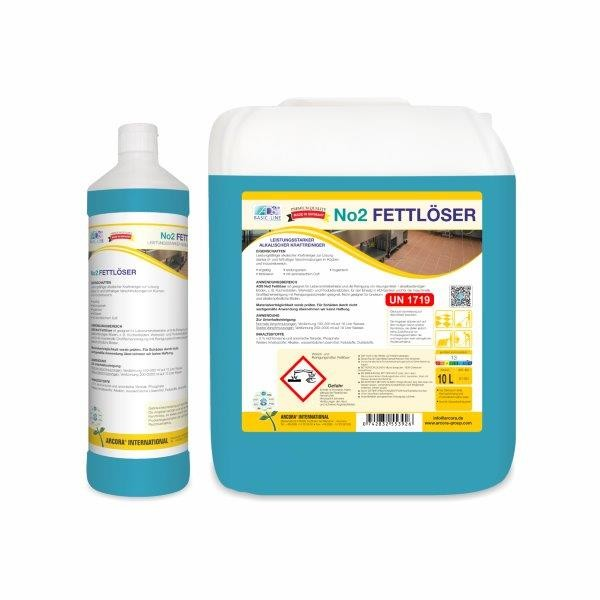 Arcora ADS No.2 fettlösender Kraftreiniger, 10 Liter