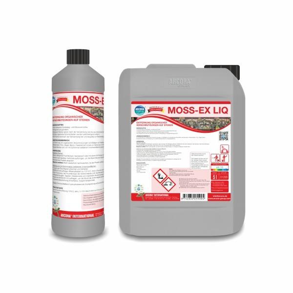 Arcora MOSS-EX LIQ Steinreiniger, 1 Liter
