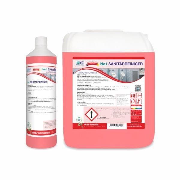 Arcora ADS No.1 Sanitärreiniger, 10 Liter