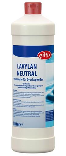 Eilfix Lavylan Neutral Cremeseife weiß, parfümfrei, 1 Liter
