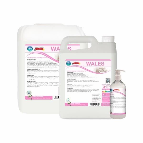Wales Hautlotion, 10 Liter