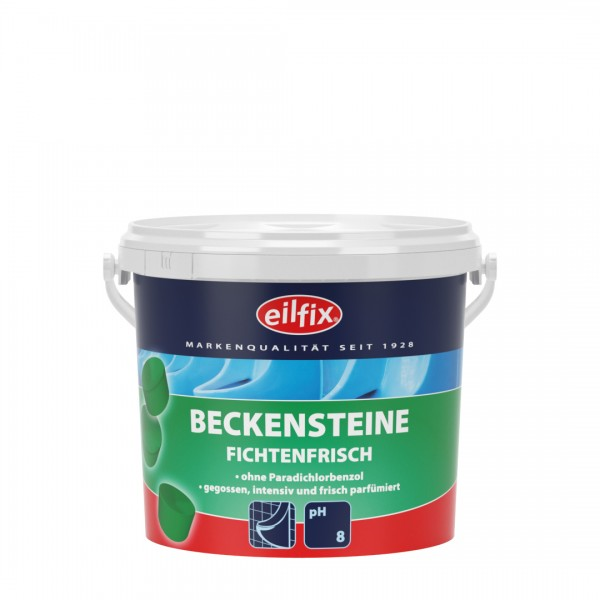 Eilfix Beckensteine Bio FICHTE ohne Paradichlorbenzol, 1kg