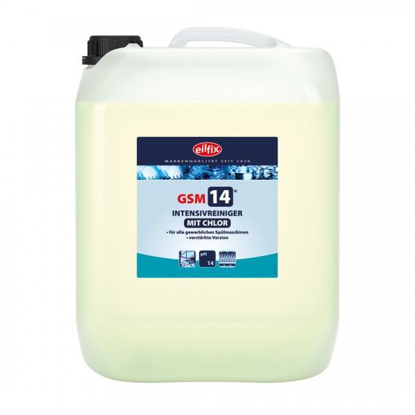 Eilfix GSM 14 mit Chlor bei hartem Wasser, 25 Kilogramm