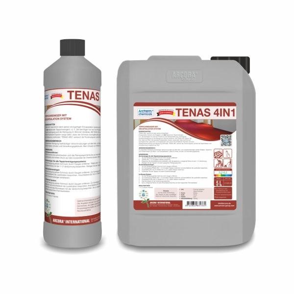 TENAS 4in1 Teppichreiniger, 5 Liter