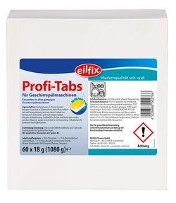 Eilfix Profi - Tabs 2-Phasen für Spülmaschine, 160 Stück