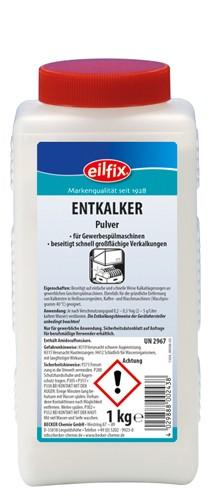 Eilfix Entkalker Pulver 1 Kilogramm