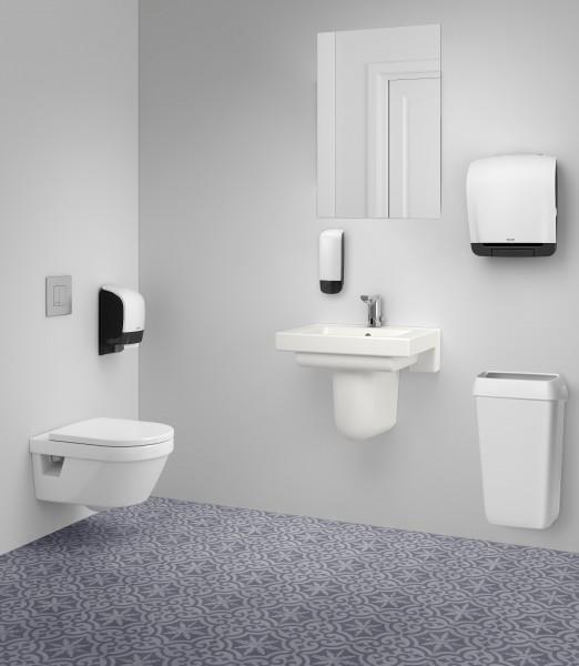 Katrin inclusive System-Toilettenpapierspender, Kunststoff, weiß